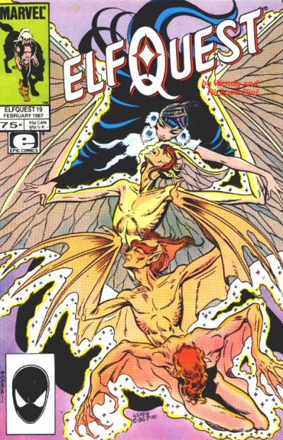 Cover for ElfQuest (Marvel, 1985 series) #19 [Direct]