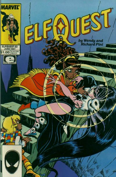 Cover for ElfQuest (Marvel, 1985 series) #23