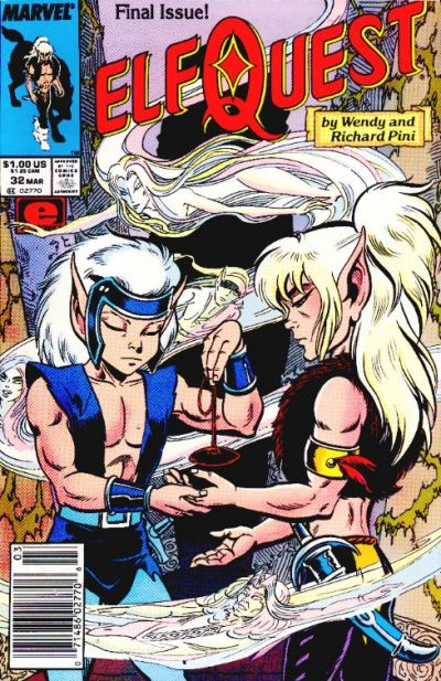 Cover for ElfQuest (Marvel, 1985 series) #32
