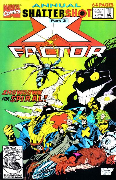 Cover for X-Factor Annual (Marvel, 1986 series) #7 [Direct]