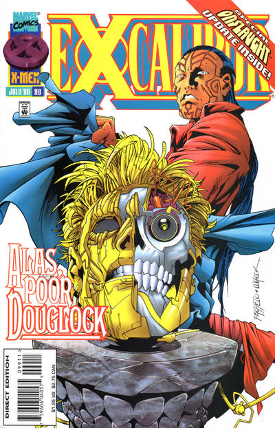 Cover for Excalibur (Marvel, 1988 series) #99 [Direct Edition]