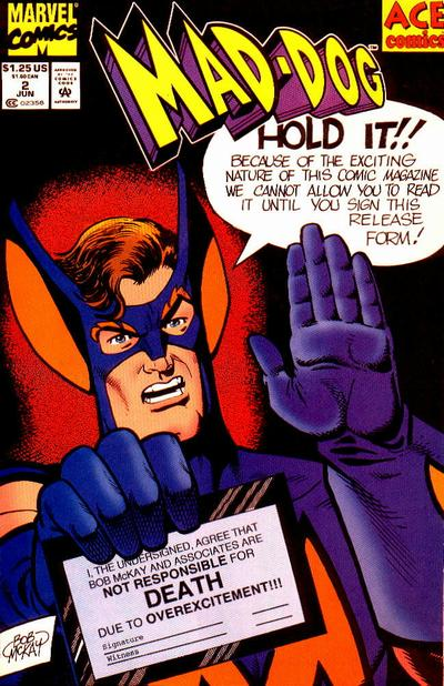 Cover for Mad-Dog (Marvel, 1993 series) #2