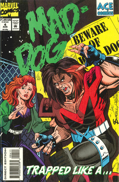 Cover for Mad-Dog (Marvel, 1993 series) #4