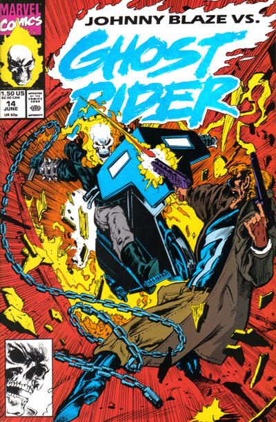Cover for Ghost Rider (Marvel, 1990 series) #14 [Direct Edition]