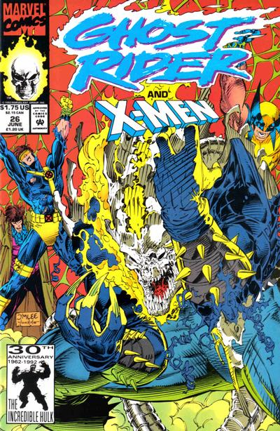 Cover for Ghost Rider (Marvel, 1990 series) #26 [Direct Edition]