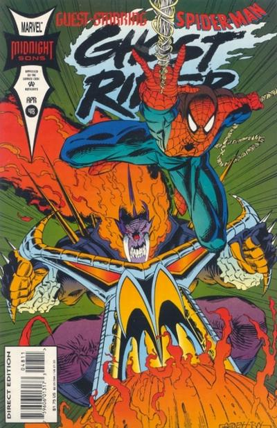 Cover for Ghost Rider (Marvel, 1990 series) #48 [Direct Edition]