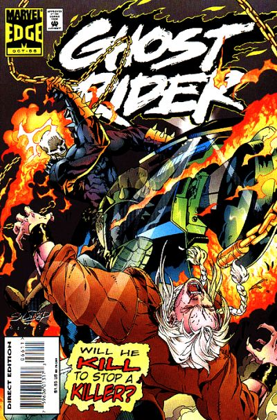 Cover for Ghost Rider (Marvel, 1990 series) #66 [Direct Edition]