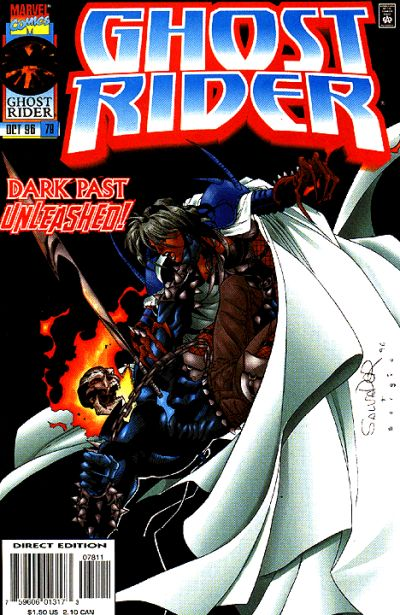 Cover for Ghost Rider (Marvel, 1990 series) #78 [Direct Edition]