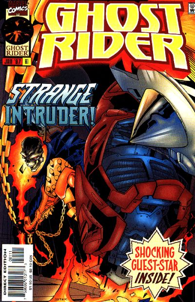 Cover for Ghost Rider (Marvel, 1990 series) #81 [Direct Edition]