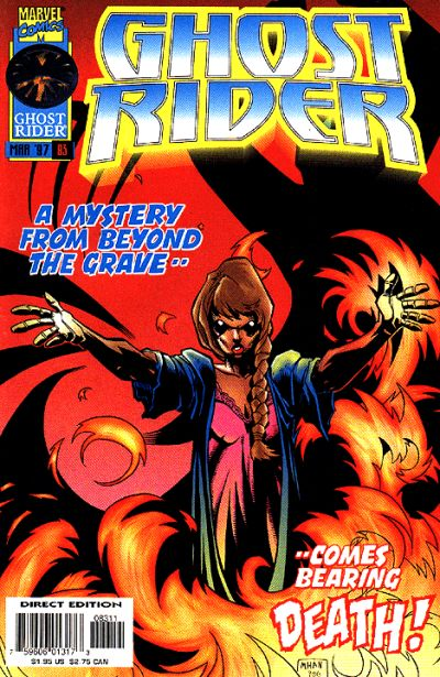 Cover for Ghost Rider (Marvel, 1990 series) #83