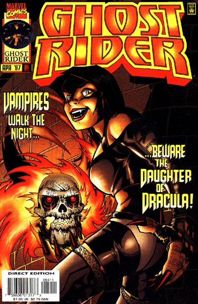 Cover for Ghost Rider (Marvel, 1990 series) #84