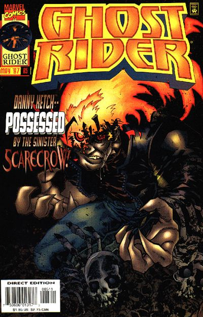 Cover for Ghost Rider (Marvel, 1990 series) #85