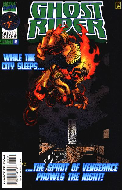 Cover for Ghost Rider (Marvel, 1990 series) #86
