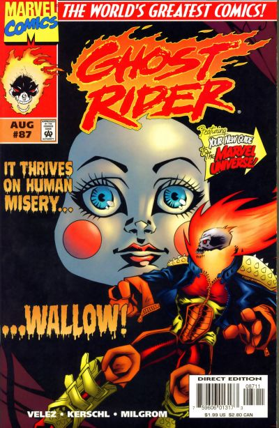 Cover for Ghost Rider (Marvel, 1990 series) #87