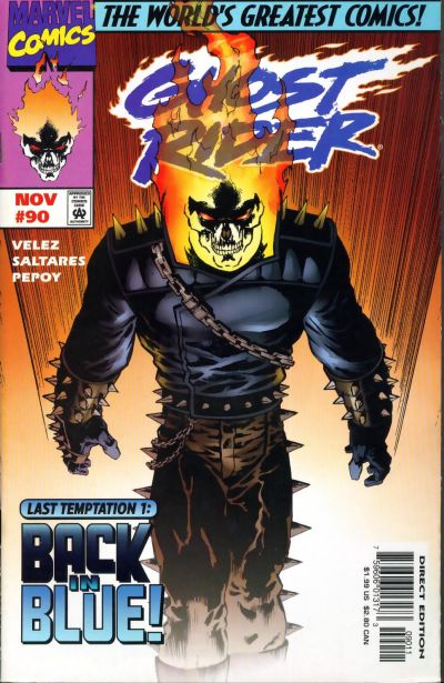 Cover for Ghost Rider (Marvel, 1990 series) #90