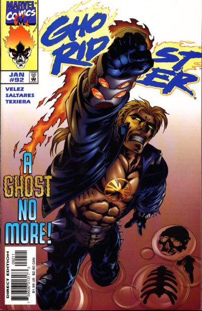Cover for Ghost Rider (Marvel, 1990 series) #92