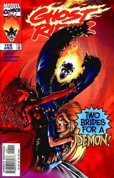 Cover for Ghost Rider (Marvel, 1990 series) #93