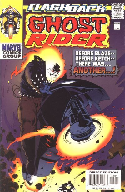 Cover for Ghost Rider (Marvel, 1990 series) #-1