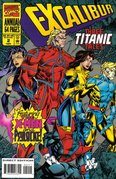 Cover for Excalibur Annual (Marvel, 1993 series) #2 [Newsstand]
