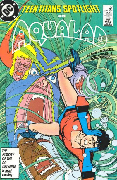 Cover for Teen Titans Spotlight (DC, 1986 series) #10 [Direct Sales]