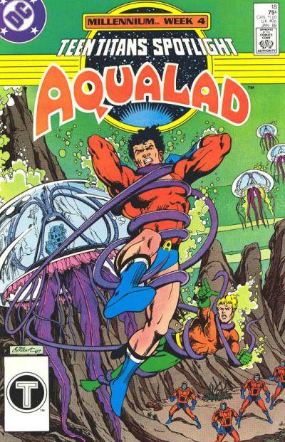 Cover for Teen Titans Spotlight (DC, 1986 series) #18