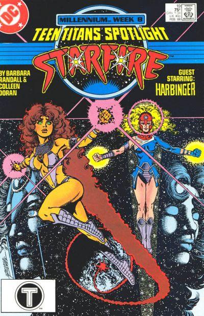 Cover for Teen Titans Spotlight (DC, 1986 series) #19