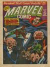 Cover for Marvel Comic (Marvel UK, 1979 series) #348
