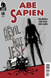 Cover Thumbnail for Abe Sapien: The Devil Does Not Jest (2011 series) #1 [Dave Johnson variant cover]