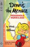 Cover for Dennis the Menace Household Hurricane (Pocket Books, 1958 series) #1217