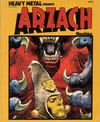 Cover for Arzach (Heavy Metal, 1977 series) #[nn]