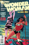 Cover for Wonder Woman (DC, 2011 series) #2