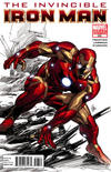Cover for Invincible Iron Man (Marvel, 2008 series) #508 [Variant Edition - Color]