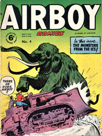 Cover Thumbnail for Airboy Comics (Streamline, 1951 series) #4