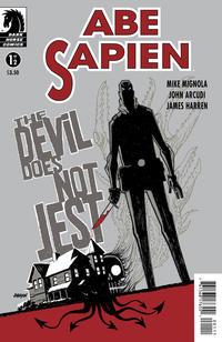 Cover Thumbnail for Abe Sapien: The Devil Does Not Jest (Dark Horse, 2011 series) #1 [Dave Johnson variant cover]