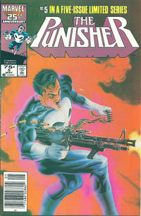 Cover Thumbnail for The Punisher (Marvel, 1986 series) #5 [newsstand]