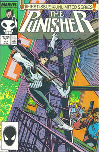Cover Thumbnail for The Punisher (Marvel, 1987 series) #1 [Direct]