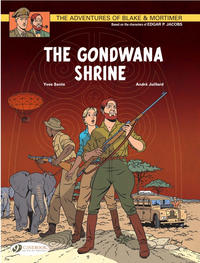 Cover Thumbnail for The Adventures of Blake & Mortimer (Cinebook, 2007 series) #11 - The Gondwana Shrine