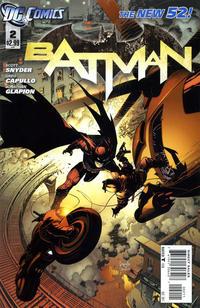 Cover Thumbnail for Batman (DC, 2011 series) #2