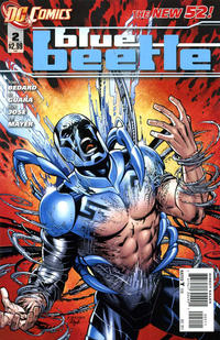 Cover Thumbnail for Blue Beetle (DC, 2011 series) #2