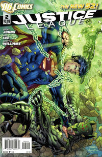 Cover Thumbnail for Justice League (DC, 2011 series) #2