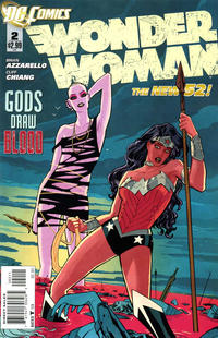 Cover Thumbnail for Wonder Woman (DC, 2011 series) #2