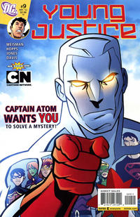 Cover Thumbnail for Young Justice (DC, 2011 series) #9