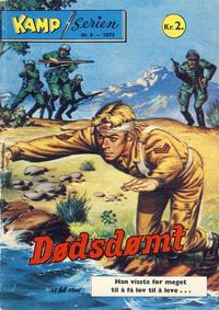 Cover Thumbnail for Kamp-serien (Serieforlaget / Se-Bladene / Stabenfeldt, 1964 series) #6/1972