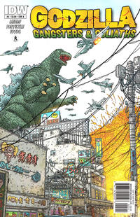 Cover Thumbnail for Godzilla: Gangsters and Goliaths (IDW, 2011 series) #5 [Cover A]