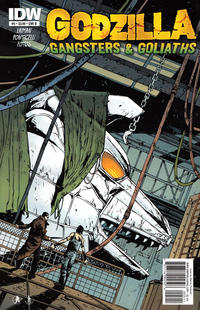 Cover Thumbnail for Godzilla: Gangsters and Goliaths (IDW, 2011 series) #5 [Cover B]