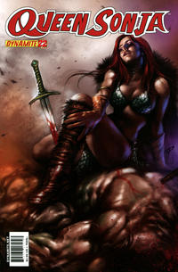 Cover Thumbnail for Queen Sonja (Dynamite Entertainment, 2009 series) #22 [Lucio Parrillo Cover]