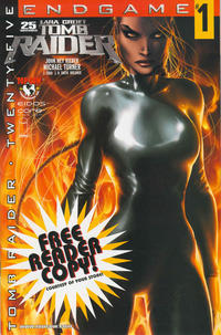 Cover Thumbnail for Tomb Raider: The Series (Image, 1999 series) #25 [Free Reader Copy Variant]