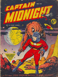 Cover Thumbnail for Captain Midnight (L. Miller & Son, 1950 series) #100