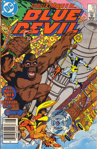 Cover Thumbnail for Blue Devil (DC, 1984 series) #15 [Newsstand]