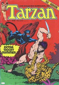 Cover Thumbnail for Tarzan (Atlantic Förlags AB, 1977 series) #1/1978